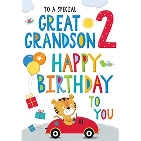 GREAT GRANDSON BIRTHDAY 6 GREAT CARDS TO CHOOSE FROM