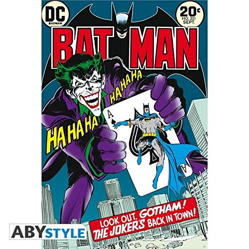 ABYstyle - Poster DC Comics con Joker's back in town (91,5 x 61)