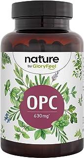 OPC Capsules - Hoogste OPC-gehalte volgens HPLC - 1050mg druivenpitextract met 630mg pure OPC - Laboratoriumstudie van Fra...