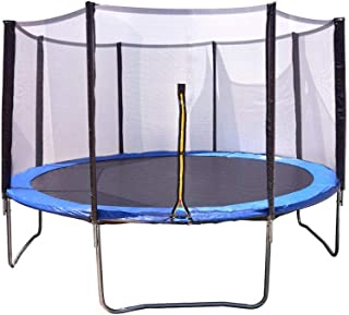 Cama Elástica Azul con Trampolín de 183 cm (6ft) y Red Protectora. Aguanta hasta 136 Kilos, no Incluye Escalera