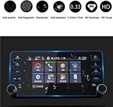 HiMoliwa compatible with 2018 Accord EX EX-L Touring EX-L 8 Inch Car Navigation Touch Screen Protector, Scratch-Resistant Ultra HD in-Dash Clear Tempered Glass Screen 9H Hardness 0.33mm Thickness