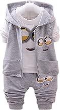 مجموعة ملابس للاطفال رمادي مينيونز -للجنسين