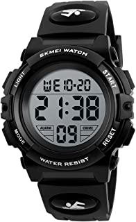 Kids Digital Watch, Boys Girls Sport Waterproof LED Watches with Alarm Clock Wrist Watches Casual Electronic Analog Quartz for boy Girl Children