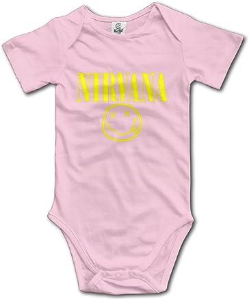 Nirvana Grunge In Utero Nevermind Bleach Unisex Baby Onesies Bodysuits