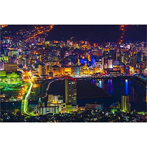 Rompecabezas De Madera, Vista Nocturna De Tokio, Japón, 500/1000/1500/2000 Piezas, Juguete De Montaje Educativo para Niños DIY, Pinturas Decorativas 0325 (Size : 1500 Pieces)