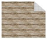 Ursus 11404601Cartulina de construcción, 300g/m², 10Hojas, DIN A4, Tejas Madera. Marrón