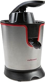 Mellerware Presse-agrumes électrique pour jus et smoothies Juicy Extracteur d'oranges avec grande puissance de moteur - Cô...