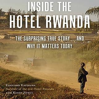 Inside the Hotel Rwanda audiobook cover art