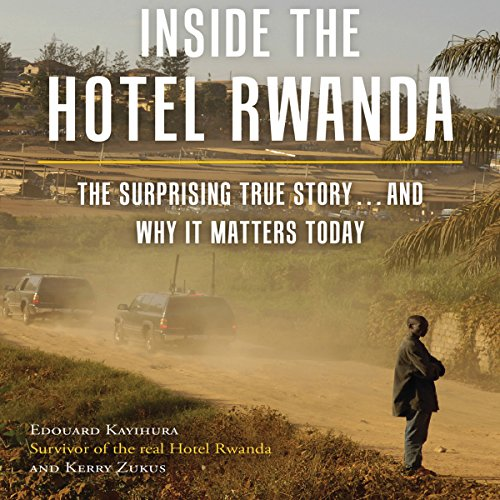 Inside the Hotel Rwanda audiobook cover art