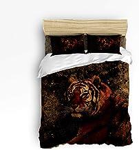 مجموعة أغطية اللحاف الفاخرة المكونة من 4 قطع من بيلاغاوا تتضمن غطاء لحاف واحد و1 ملاءة سرير و2 أغطية وسائد، طقم ملاءات سري...