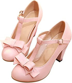 Mary Jane / Pink / Pumps / Shoes