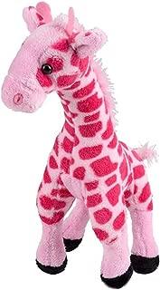 Rhode Island Novelty Pink Giraffe Plush | 11 Inches Long (1-Unit)