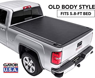 Gator ETX Soft Roll Up Truck Bed Tonneau Cover | 53106 | fits 07-13 GM Silverado/Sierra, 5.8' Bed | Made in the USA