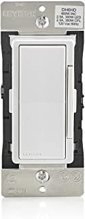Leviton DH6HD-1BZ 600W Decora Smart with HomeKit Technology Dimmer, 10-Pack