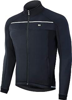 Souke Sports Men's Winter Cycling Jacket Warm Windproof Running Thermal Windbreaker Bike