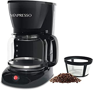 12-Cup Drip Coffee Maker – Mixpresso