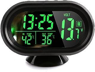domybest LCD Digital term/ómetro humedad mesa de interior al aire libre