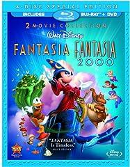 FANTASIA/FANTASIA 2000 SPEC ED BLU/DVD (BLU-RAY DISC)