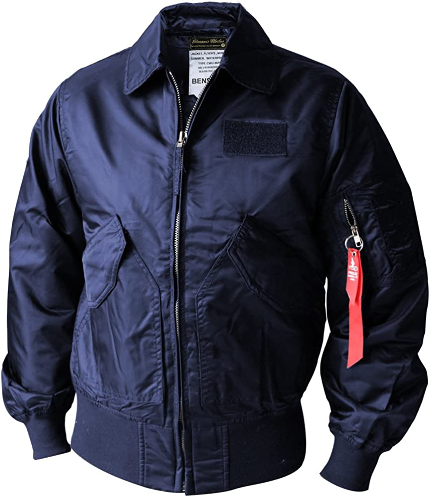 Norman Dragon CWU-45P Men's Autumn Air Force Bomber Jacket Without Padding