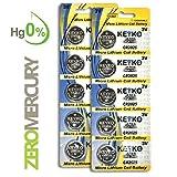 CR2025 Battery - 10 pcs Pack - 3V Lithium Buttom Coin Cell Battery Type 3.0 Volt: 2025 DL2025 ECR2025 Genuine KEYKO Supreme High Energy