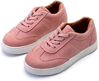 BININBOX Girl Boys Casual Athletic Sneakers Shoes Toddler Kid Sport Running Leatherette