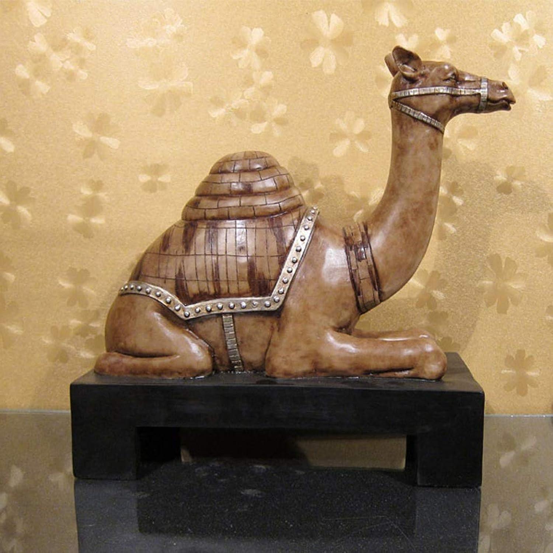 promocionales de incentivo LHKJ Adornos de Animales de época época época Clásico hogar Resina Artesanía Camello Joyero Decoración  almacén al por mayor