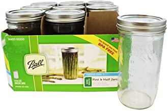 product image for Ball 65500 Wide Mouth 24 Oz. Glass Mason Jars-9 / CS