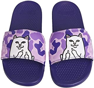 Lord Nermal Slides Purple Camo