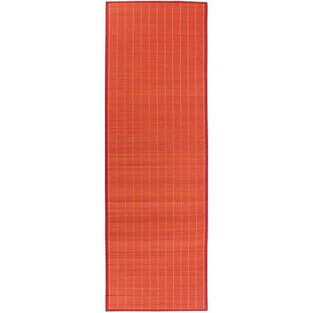 Tapis, 200cm x 65cm, Rouge