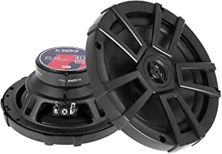 H YANKA ES-Series 6.5 Car Speakers,Full Range Stereo 500 Watt Max 2-Way Coaxial Car Audio Speaker, Professional Car Speake... photo