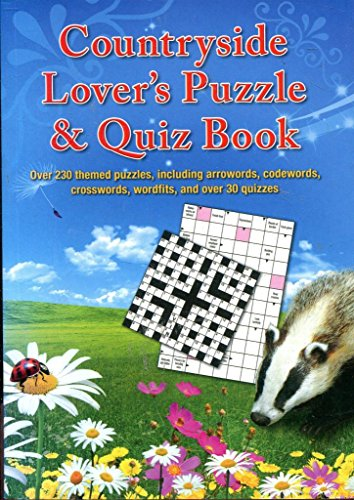 COUNTRYSIDE LOVER'S PUZZLE & QUIZ BOOK PAPERBACK