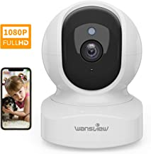 Home Security Camera, Baby Camera,1080P HD Wansview Wireless WiFi Camera for Pet/Nanny,..