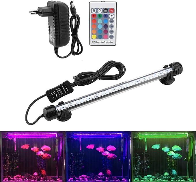 90 opinioni per Illuminazione per Acquario LED Aquarium Light Colorato Sommergibile Luci