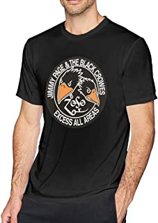 Mens Cool The Black Crowes T Shirt Black