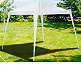 Lifetime Garden Pavillion 3x3 Meter, Pavillion weiß, Gartenpavillion/Gartenzelt 3x3x2,45m, BE-39906