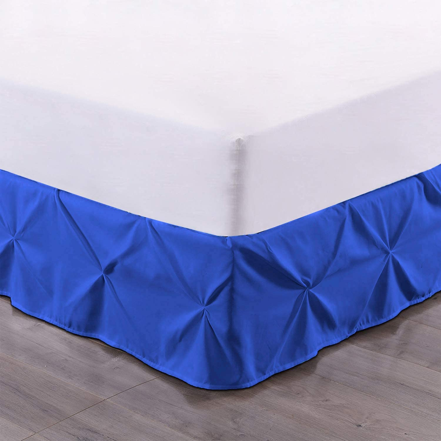 Bed Skirt - 100% Max 75% OFF Sales for sale Cotton 800 B 1-Piece Count Thread Pinch Pleated