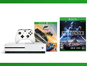 Xbox One S 500GB Console - Forza Horizon 3 Hot Wheels Console Bundle + Star Wars Battlefront II + WWE 2K16 Bundle ( 3 - Items )
