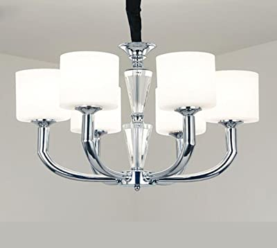 Relaxdays Ceiling Light with Bird White E27 Socket Deco Lamp in Vintage Retro Look 40 W Transparent