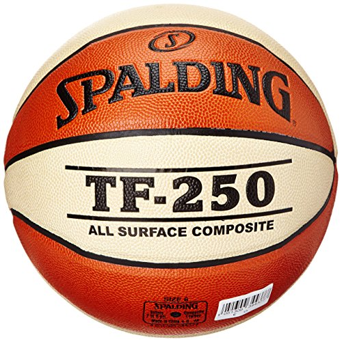 Spalding Unisex-Adult 3001504011416_6 Basketball, orange,White, 6