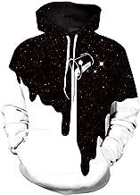 Nieface Men/Women 3D Sweatshirts Print Spilled Milk Space Galaxy Thin Unisex Hoodies