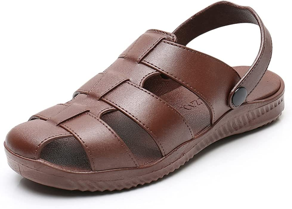 FDSVCSXV Mens Quality inspection Sports Sandals Closed Shoes Summ Beach Denver Mall Toe Outdoor