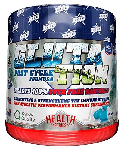 BIG Gluta Tion Antioxidante, Suplemento Protector - 120 Cápsulas