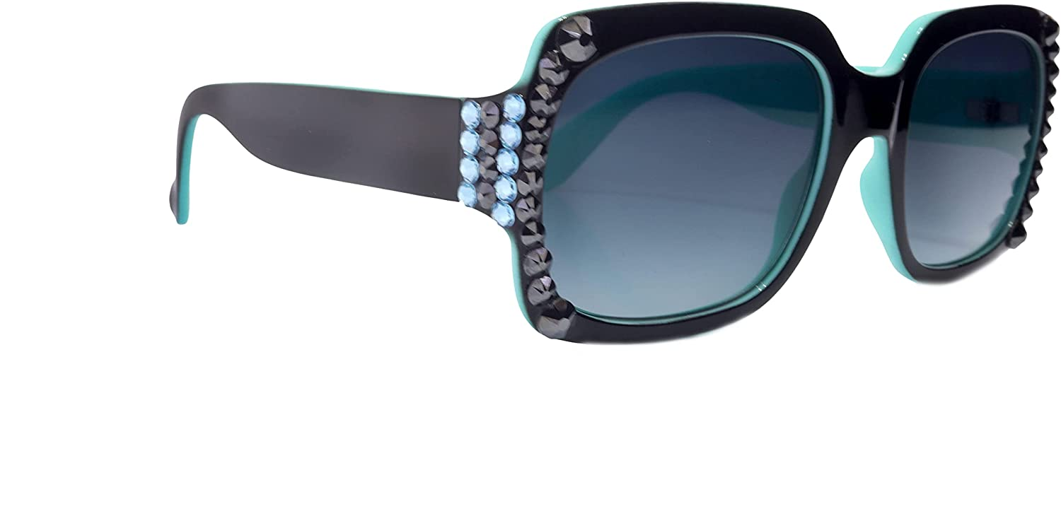 Bling Women Sunglasses Adorned with OFFicial site Ranking TOP2 Crystals UV 100% Pr Genuine