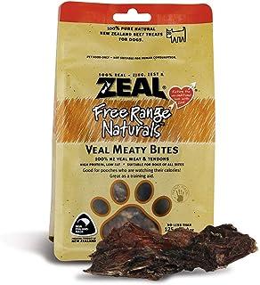Zeal Free Range Naturals Veal Meaty Bites Dog Treats 125g