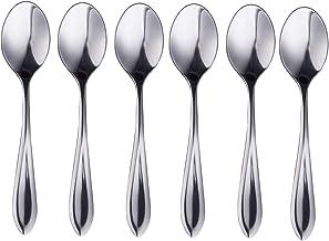 IMEEA Demitasse Espresso Spoons, Mini 18/10 Stainless Steel Bistro Spoon, 4.3Inch (11cm), Set of 6