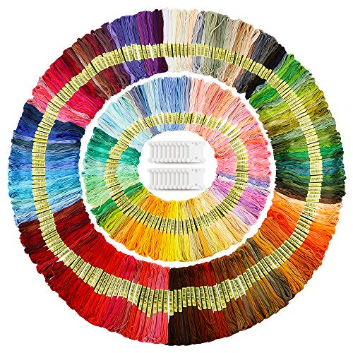 Caydo 300 Skeins Embroidery Floss,...