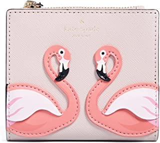 Kate Spade New York Women's By the Pool Flamingo Adalyn Wallet