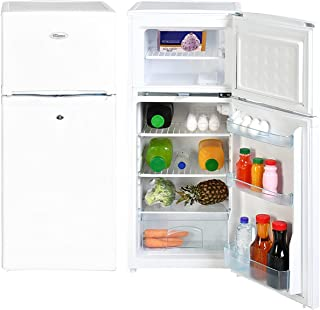 Super General 175 Liters Gross Compact Top-Mount Refrigerator-Freezer, Reversible door, Tropical Compressor, White, SGR-17...