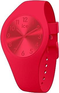 Ice-Watch - Ice Colour Lipstick - Montre Rouge pour Femme avec Bracelet en Silicone - 017916 (Small)