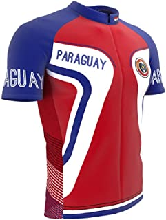 ScudoPro Paraguay Full Zipper Bike Short Sleeve Cycling Jersey for Women